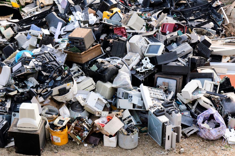 Elektronikai hulladékanyag