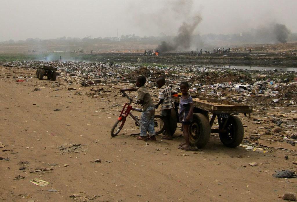 Afrika, E-hulladék - Agbogbloshie